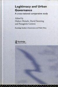 Ebook in inglese Legitimacy and Urban Governance -, -