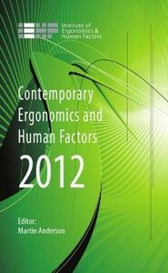 Foto Cover di Contemporary Ergonomics and Human Factors 2012, Ebook inglese di  edito da CRC Press