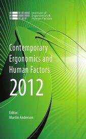 Contemporary Ergonomics and Human Factors 2012
