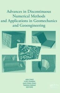Ebook in inglese Advances in Discontinuous Numerical Methods and Applications in Geomechanics and Geoengineering