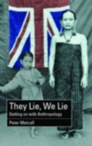 Foto Cover di They Lie, We Lie, Ebook inglese di Peter Metcalf, edito da Taylor and Francis