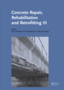 Ebook in inglese Concrete Repair, Rehabilitation and Retrofitting III -, -