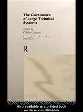 The Governance of Large Technical Systems