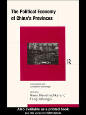 The Political Economy of China's Provinces