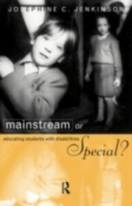 Foto Cover di Mainstream or Special?, Ebook inglese di Josephine Jenkinson, edito da Taylor and Francis