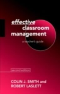 Ebook in inglese Effective Classroom Management Laslett, Robert , Smith, Colin