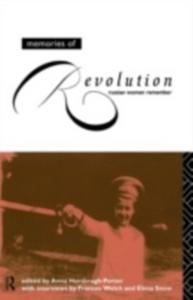 Ebook in inglese Memories of Revolution -, -