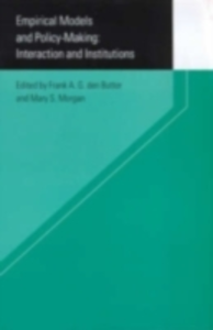 Ebook in inglese Empirical Models and Policy Making -, -