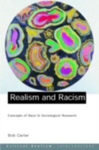 Ebook in inglese Realism and Racism Carter, Bob