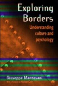 Foto Cover di Exploring Borders, Ebook inglese di Giuseppe Mantovani, edito da Taylor and Francis