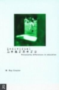 Foto Cover di Individual Learners, Ebook inglese di W. Ray Crozier, edito da Taylor and Francis