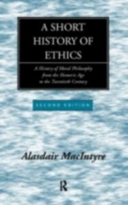 Ebook in inglese Short History of Ethics MacIntyre, Alasdair