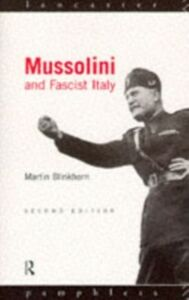 Ebook in inglese Mussolini and Fascist Italy Blinkhorn, Martin