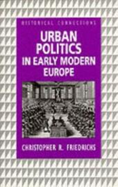 Urban Politics in Early Modern Europe