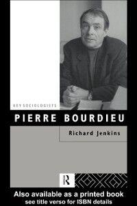 Ebook in inglese Pierre Bourdieu Jenkins, Richard