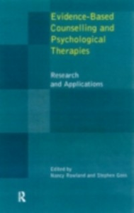 Ebook in inglese Evidence Based Counselling and Psychological Therapies -, -