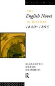 Ebook in inglese English Novel In History 1840-1895 Ermarth, Elizabeth