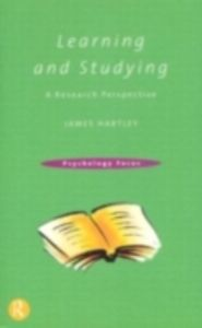Ebook in inglese Learning and Studying Hartley, James