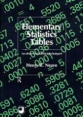 Elementary Statistics Tables