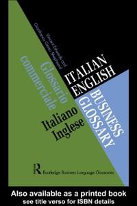 Ebook in inglese Italian/English Business Glossary Edwards, Vincent , Shepheard, Gianfranca Gessa