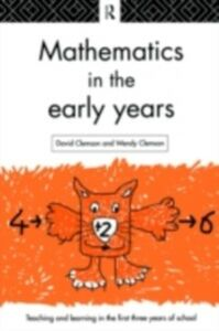 Ebook in inglese Mathematics in the Early Years Clemson, David , Clemson, Wendy