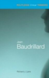 Ebook in inglese Jean Baudrillard Lane, Richard J.