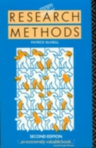 Ebook in inglese Research Methods -, -