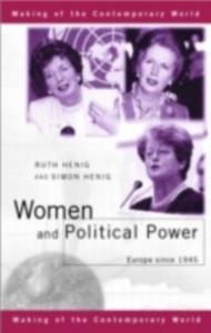 Ebook in inglese Women and Political Power Henig, Simon