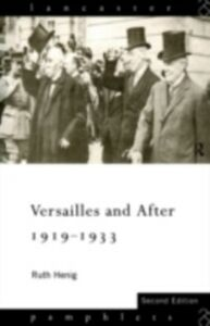 Ebook in inglese Versailles and After, 1919-1933 Henig, Ruth