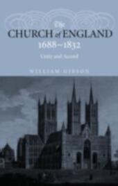 Church of England 1688-1832