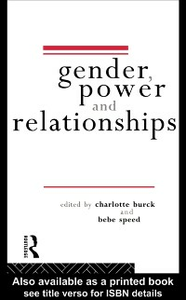 Ebook in inglese Gender, Power and Relationships -, -