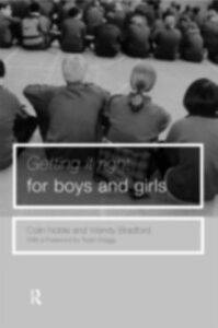 Ebook in inglese Getting it Right for Boys ... and Girls -, -