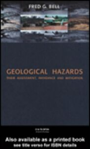 Foto Cover di Geological Hazards, Ebook inglese di Fred Bell, edito da