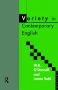 Ebook in inglese Variety in Contemporary English -, -