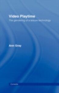 Foto Cover di Video Playtime, Ebook inglese di Ann Gray, edito da Taylor and Francis