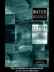 Ebook in inglese Water Resources