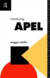 Ebook in inglese Introducing APEL Challis, Maggie