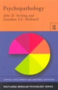 Ebook in inglese Psychopathology Hellewell, Jonathan S.E. , Stirling, John D.