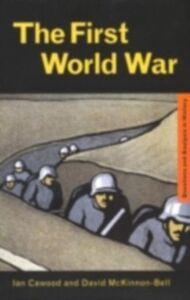 Ebook in inglese First World War Cawood, Ian J. , McKinnon-Bell, David
