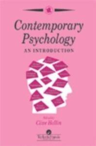 Foto Cover di Contemporary Psychology, Ebook inglese di  edito da Taylor and Francis