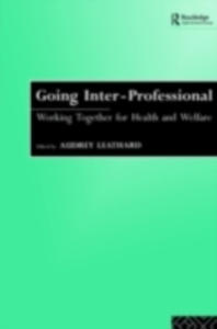 Ebook in inglese Going Interprofessional -, -