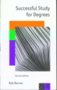Ebook in inglese Successful Study for Degrees Barnes, Rob