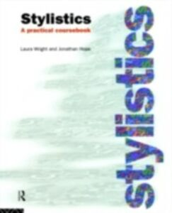 Ebook in inglese Stylistics Hope, Jonathan , Wright, Laura