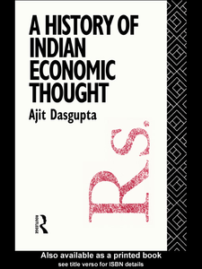 Ebook in inglese A History of Indian Economic Thought Dasgupta, Ajit K.
