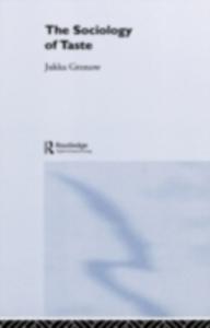 Ebook in inglese Sociology Of Taste Gronow, Jukka