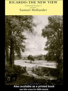 Foto Cover di Ricardo - The New View, Ebook inglese di Samuel Hollander, edito da