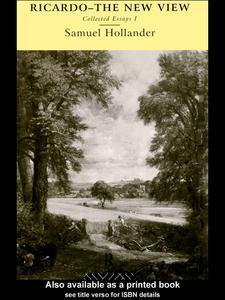 Ebook in inglese Ricardo - The New View Hollander, Samuel