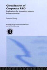 Ebook in inglese Globalization of Corporate R & D Reddy, Prasada