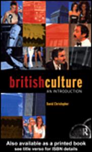 Ebook in inglese British Culture Christopher, David