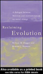 Ebook in inglese Reclaiming Evolution Dugger, William M. , Sherman, Howard J.